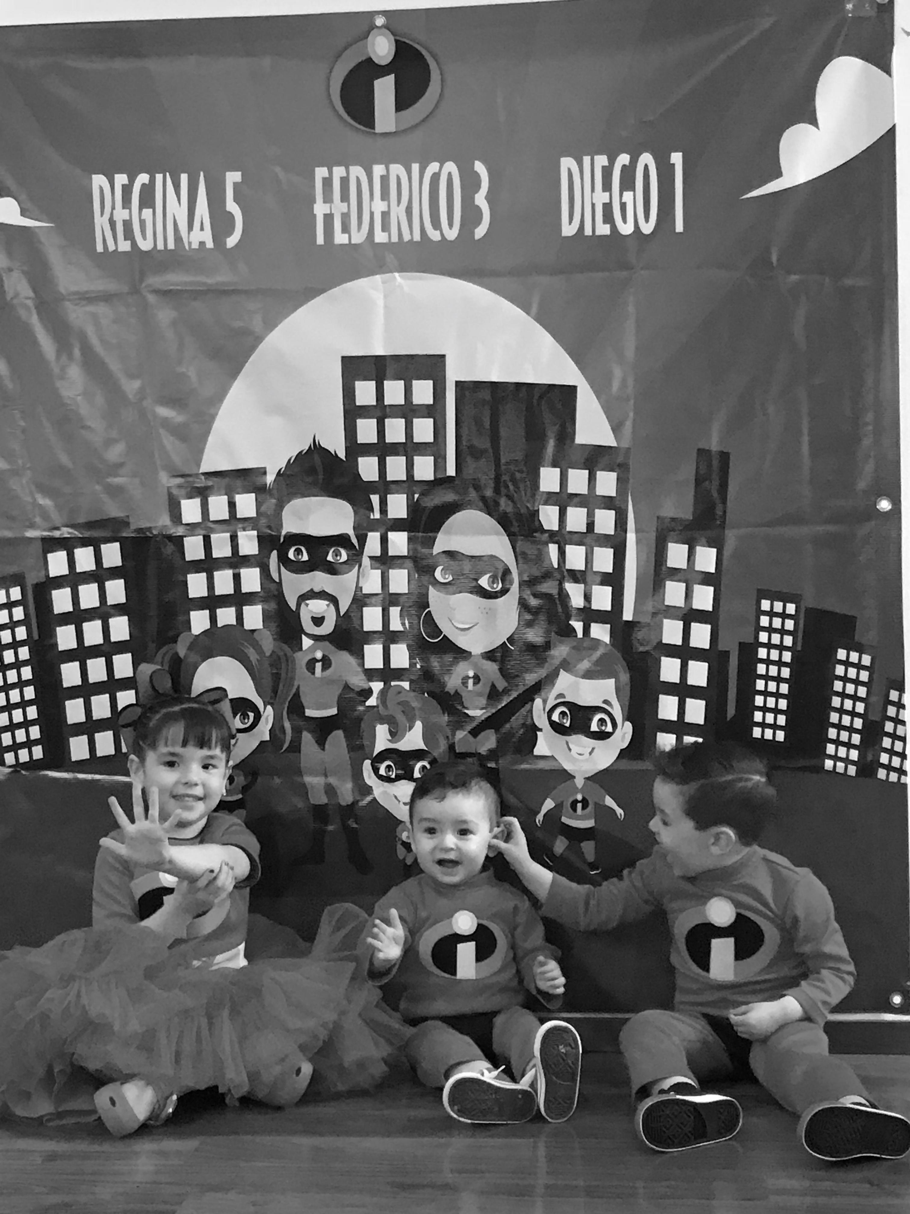 LOS INCREÍBLES: REX, FEDEX Y DIEX !!!