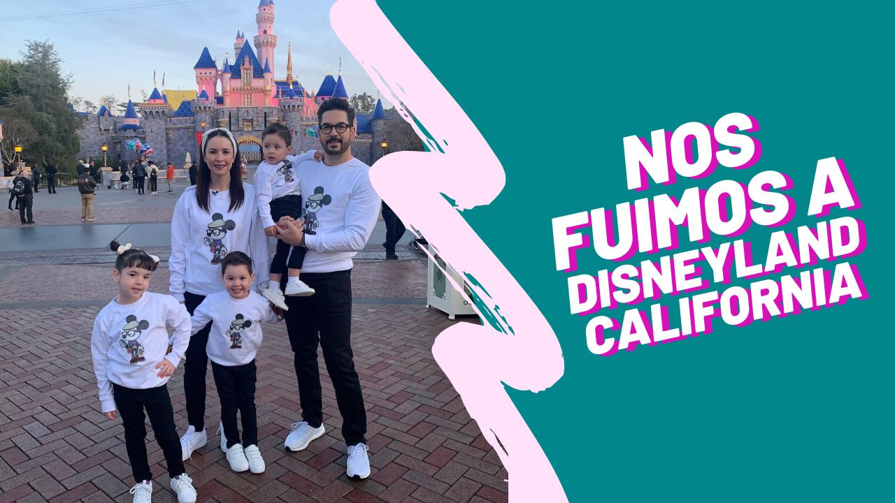 Nos fuimos a Disneyland California