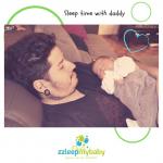 Cómo lograr involucrarte en el descanso de tu bebé como papá